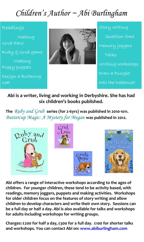 Author Visit Poster