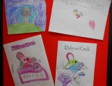 Children's Drawings At The Hub