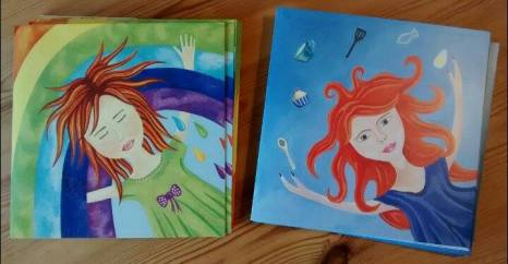 'Live, Love' and 'Rainbow Dreams' cards