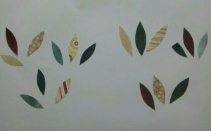Paper leaves for Moonlight Metamorphosis